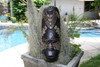 "FIJIAN TIKI MASK W/ CARVED TURTLE - 20"" LOVE - POLYNESIAN ART"
