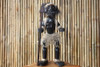 "PRIMITIVE MALE TIKI WARRIOR CHIEF 28"" - TRIBAL TIKI DECOR"