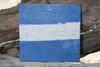 "J Nautical Alphabet Wooden Plaque 7"" X 7"" - Coastal Decor | #skn16017j"