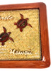 "Elegant Frame w/ Sea Turtles 15"" X 11"" - Mango Wood   #rpcframe4"