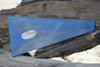 "2 Nautical Numerical Flag 12"" Wood Plaque - Coastal Decor   #skn160212"