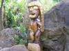 "God Of King Kamehameha 24"" - Authentic Tiki God Idol | #rtg1002"