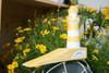 "Lighthouse Door Stopper 7"" - Rustic Coastal Yellow | #ort1701310y"