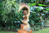 "Tiki Goddess Pele Fire - 20"" Hand Carved Replica -   #yda1102950n"