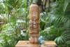 "Love Tiki Totem 12"" Natural - Hand Carved | #yda1101330"