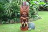 "Ku Kona-Style Tiki 48"" - Stained - Traditional Hawaii Replica | #yda11030120b"
