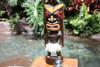 "Big Chief Tiki God 12"" Fire Dancer  - Hand Carved   #bag1502830"