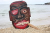 """Pirate Head Wall Plaque 12"""" w/ Cigar - Pirate Hanging Decor   #dpt525730"""