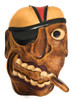 "Pirate Head Wall Plaque 12"" w/ Cigar - Pirate Decor | #dpt525830"