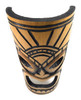 "Warrior Chief Bamboo Tiki Mask 12""   #dpt509730"