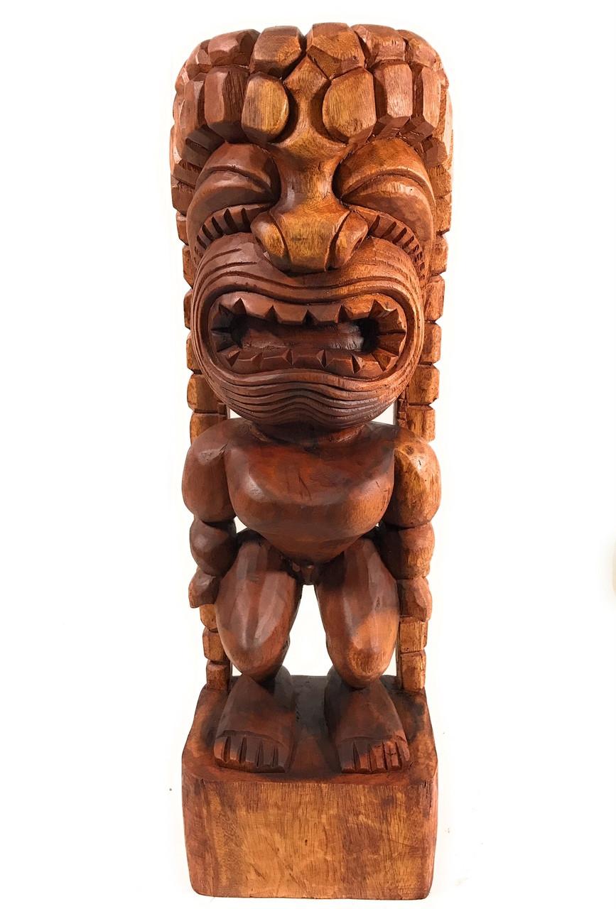 Traditional Kanaloa Tiki 24 Quot Hawaii Museum Hawaii