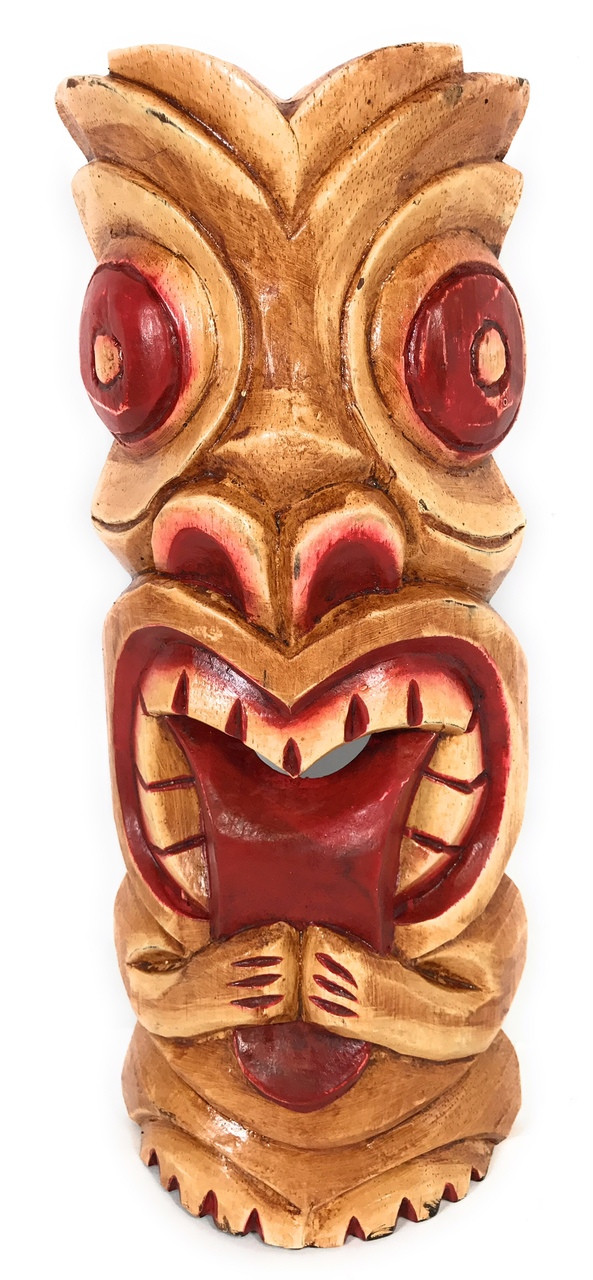 big kahuna tiki mask 12 hawaiian tiki bar decor ksa902330