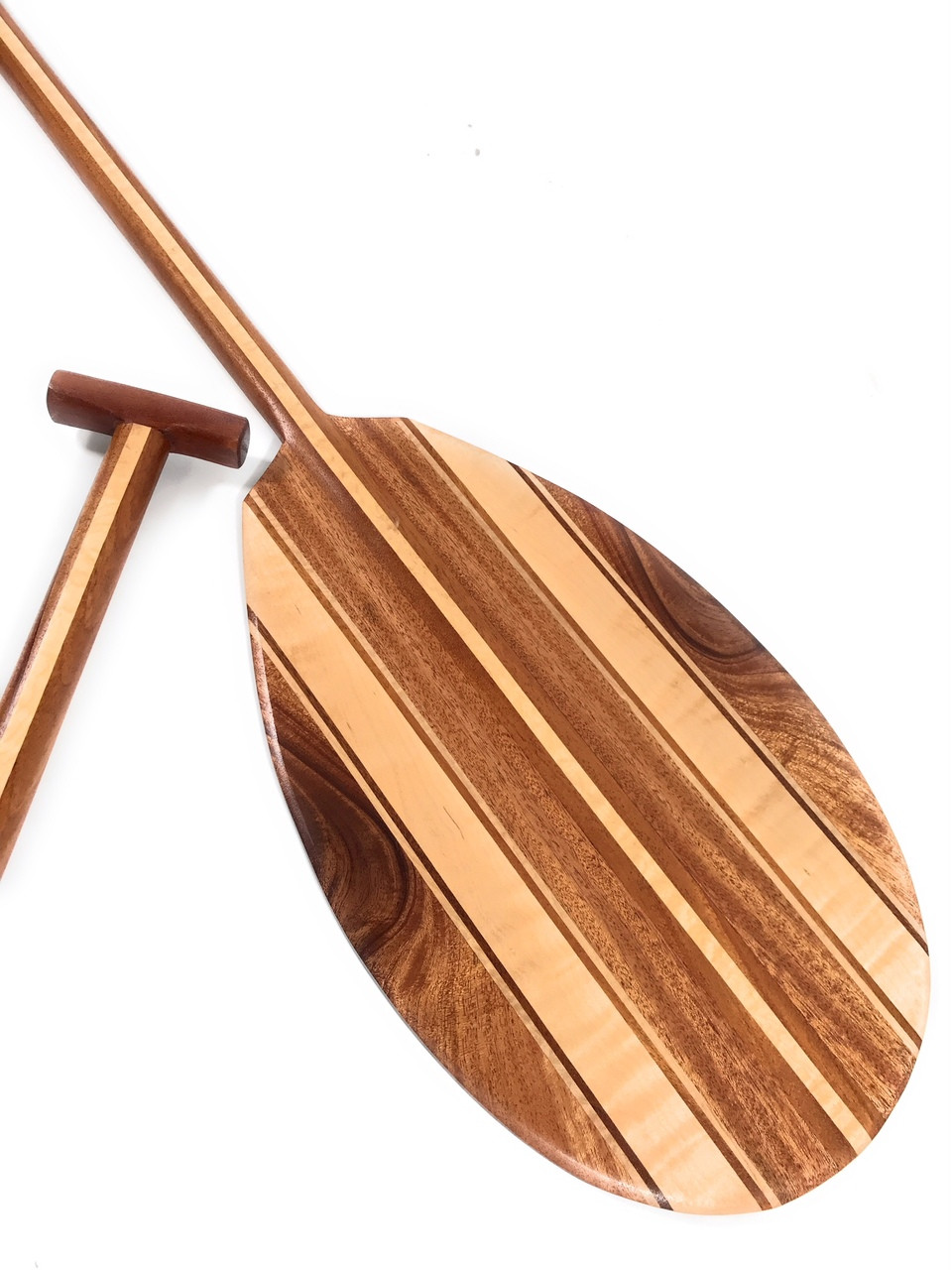 Koa Canoe Paddle 50 Quot W Maple Inlays T Handle Made In