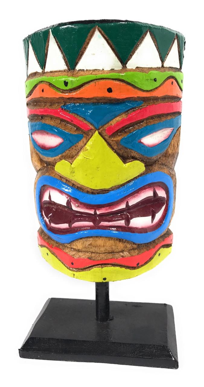 Love Tiki Mask on Stand 8\