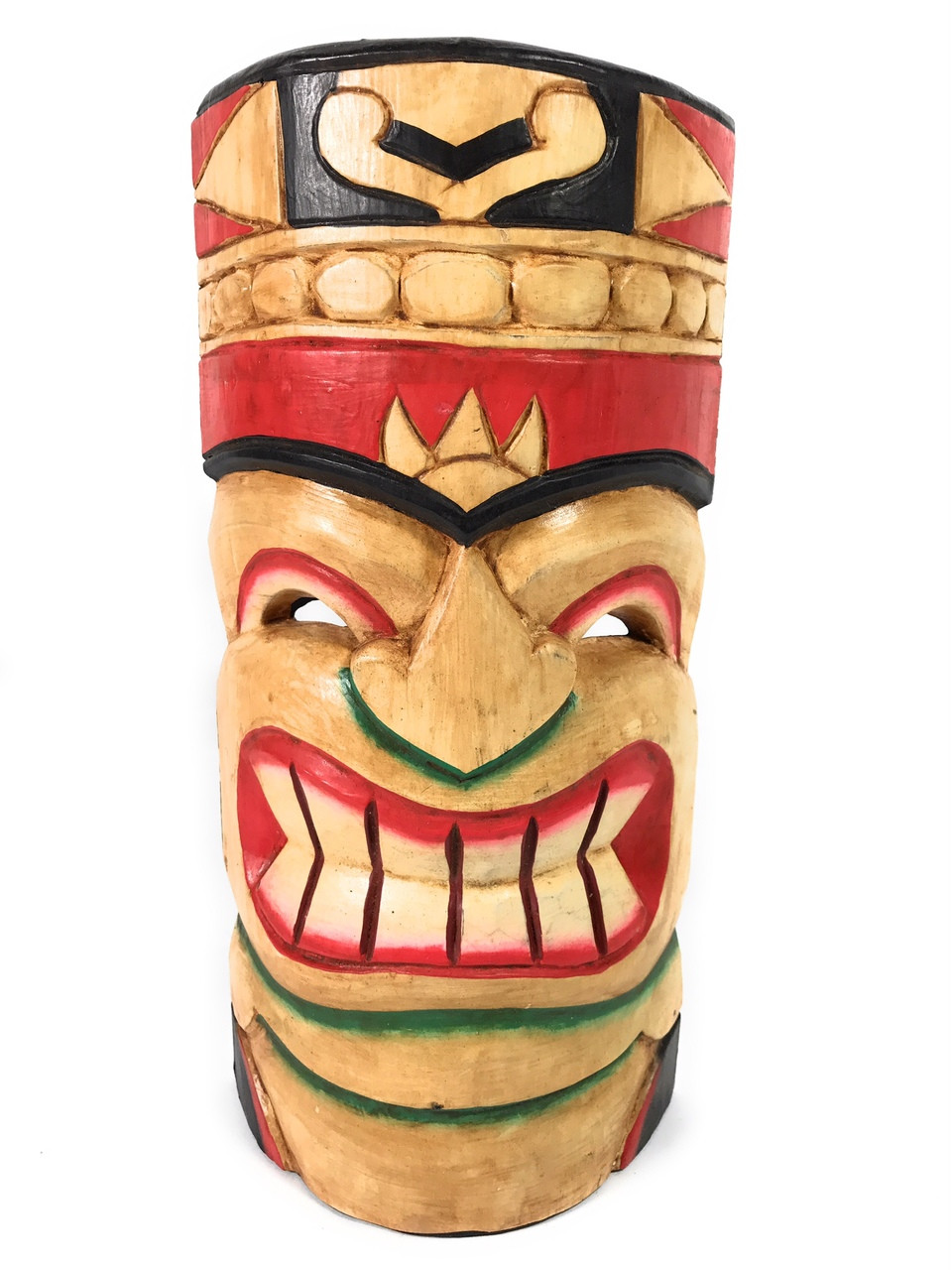 polynesian tiki mask 12 hawaiian decor dpt514330 tikimaster com