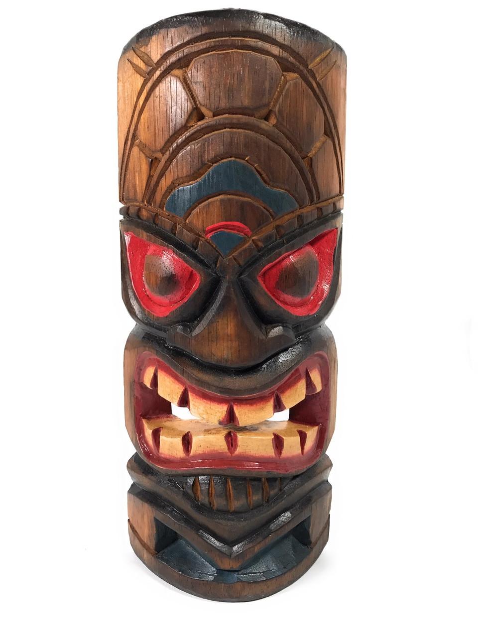 Learning Tiki Mask 12 Quot Lono Tiki Bar Decor