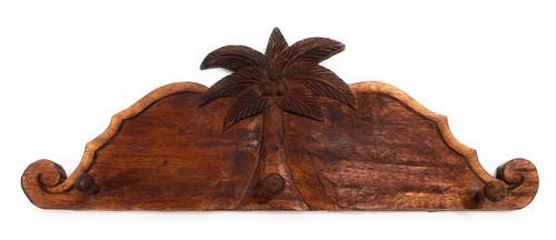 "Palm Tree Hanger 20"" w/ 3 Pegs - Tropical Decor   #dpt510750"