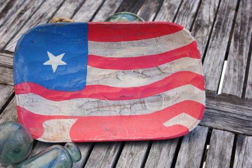 "Wooden Fruit Plate 14"" - Americana Decor"