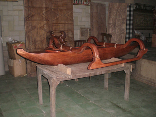 Outrigger Canoe 8' Architectural Decor | #bla6054