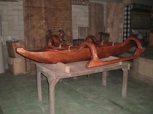 Outrigger Canoe 8' Replica Architectural Decor | #bla6054