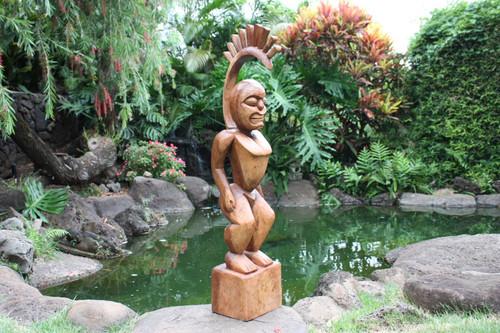 "Tiki Goddess Pele - 40"" Muse De L' Homme - Hawaii Heritage"