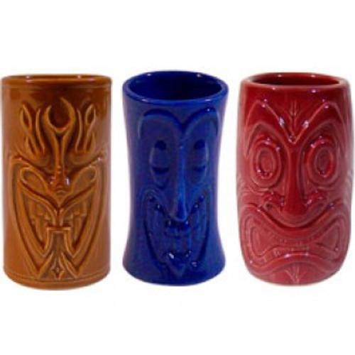 Tiki Shot Mug - Tiki Set of 3 | #kc70296