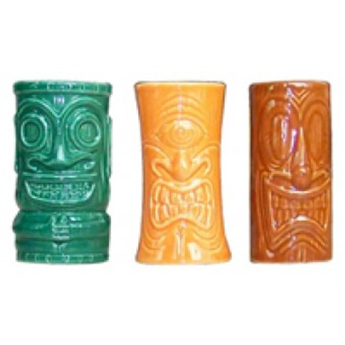 Tiki Shot Mug - Tiki Set of 3 | #kc70300