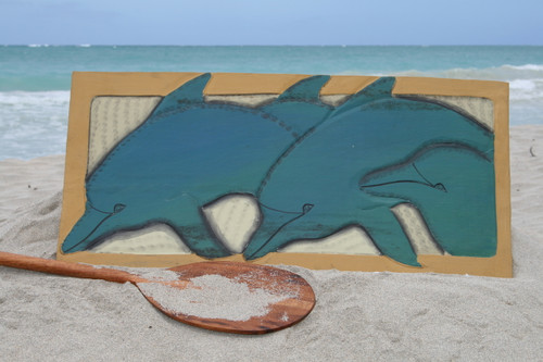 "DOLPHINS OHANA 30"" X 15"" - ENDANGERED SPECIES - STORYBOARD"