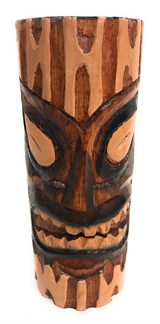"Long Life Tiki Totem 6"" - Antique Finish - Hawaii Gifts 