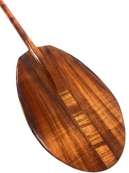 "Extra Large Premium Canoe Paddle 69"" X 2"" Shaft - Hawaiian Decor | #koa1871"