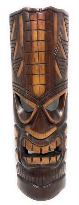 "Prosperity Tiki Mask 20"" - Hand Carved   #bag1505050"