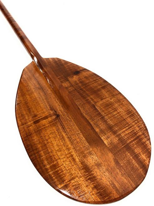 "Premium Curly Koa Paddle 50"" T-Handle - Made In Hawaii | #koa3297"