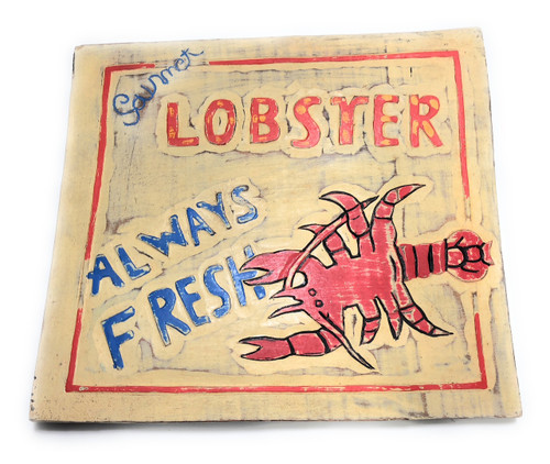 "Lobster, Always Fresh Sign 14"" - Restaurant Kitchen Decor 