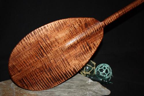 "Curly Hawaiian Paddle 50"" T-Handle | #koa4469"