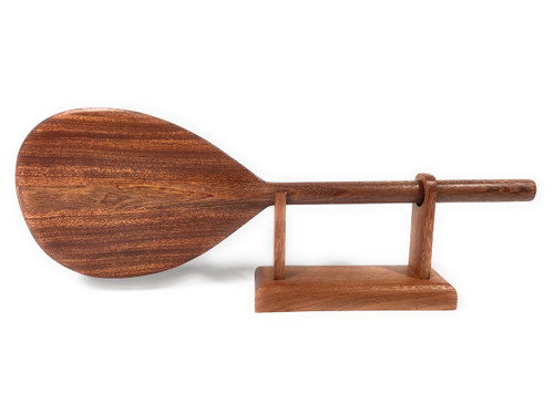"Trophy Koa paddle 18"" w/ stand - Desktop Home Office Decor 