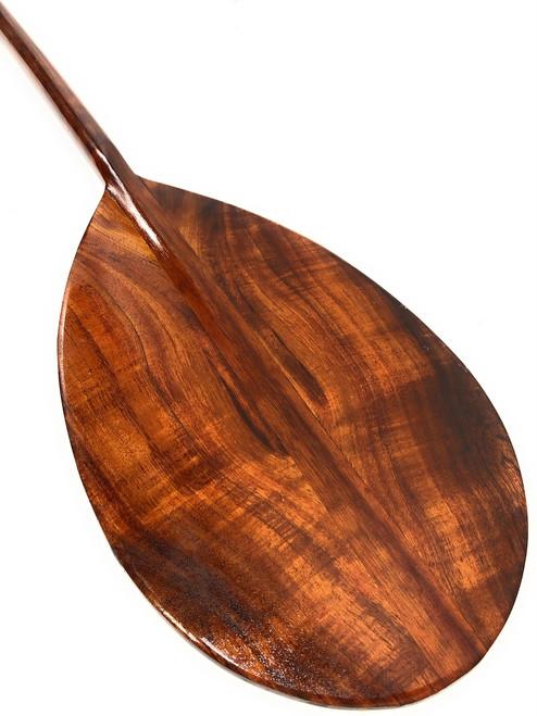 "Deep Tone Curly Koa Paddle 60"" Steersman Hawaii Built | #koa4273"