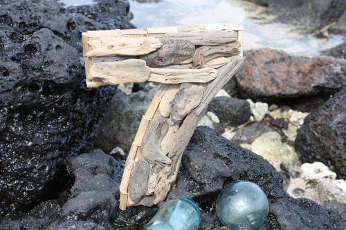 """7"" Driftwood Number 10"" Home Decor"