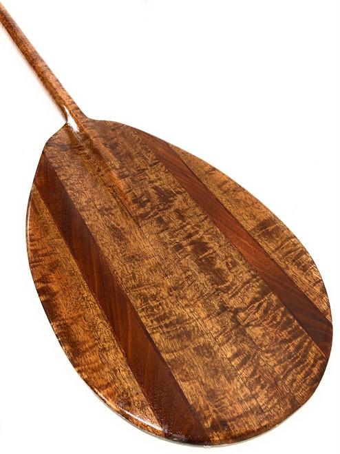 "AAA Grade Koa Paddle 60"" Wall Decor Steersman Design | #koa4032"
