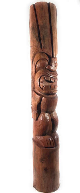 Lanikai Tiki Totem 5 ft Natural - Landscape Tropical Design | #lbj3034150n