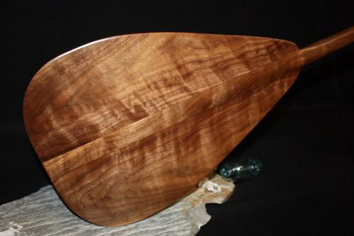 "Premium Walnut Racing Outrigger Paddle 50"" T-Handle Hawaiian Heritage"