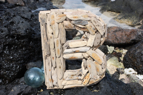 """""""B"""" Driftwood Letter 10"""" Home Decor"""
