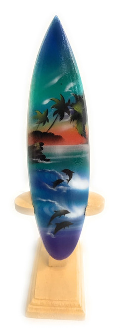 "Surfboard w/ Stand Island Lifestyle Design 6"" - Trophy 