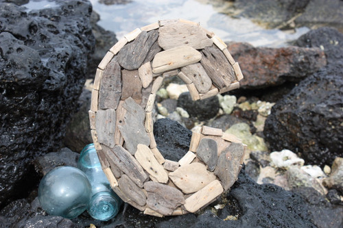"""C"" Driftwood Letter 10"" Home Decor"