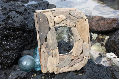 """D"" Driftwood Letter 10"" Home Decor"