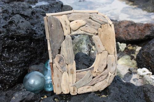 """D"" Driftwood Letter 10"" Home Decor"