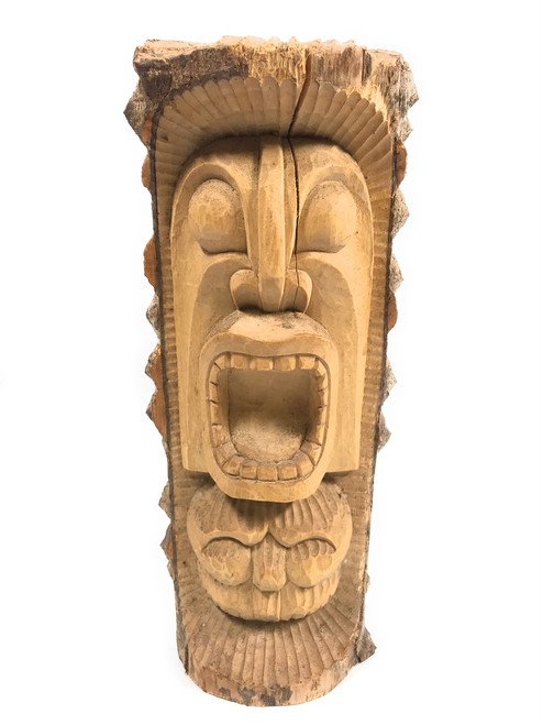 """Ku Tiki 13"""" Crocodile Wood - Tropical Decor   #rtg100530"""