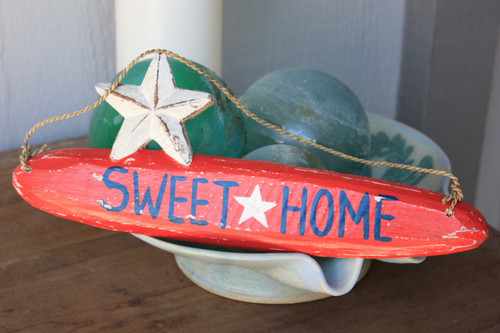 """Sweet Home"" Americana Wooden Sign 14"" 