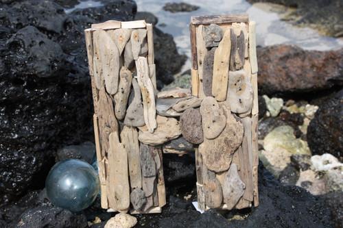"""""""H"""" Driftwood Letter 10"""" Home Decor"""