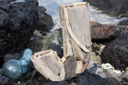"""""""J"""" Driftwood Letter 10"""" Home Decor"""