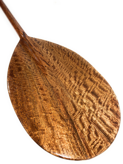 "AAA Grade Mango Koa Paddle 60"" Steersman Design - Made In Hawaii 